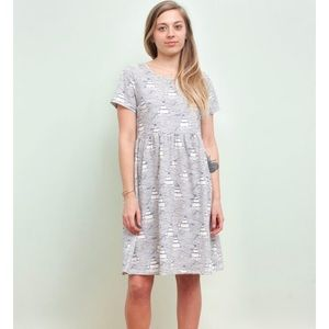 Winter Water Factory Stockholm Dress in High Seas